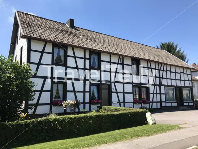 Timberframe house in Germany