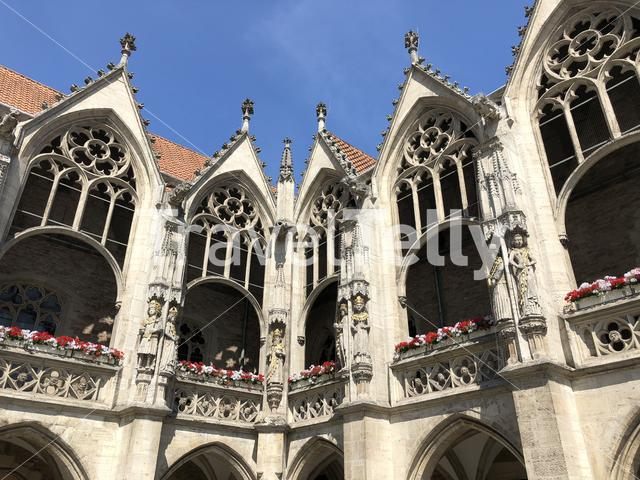 Old town architecture in Braunschweig Germany