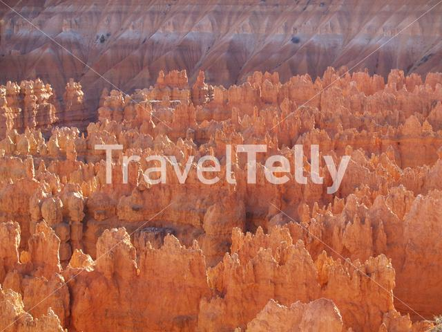 Rock formation in Bryce Canyon National Park