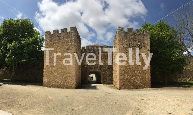 Panorama from the gate at the Castelo dos Governadores In Lagos Portugual