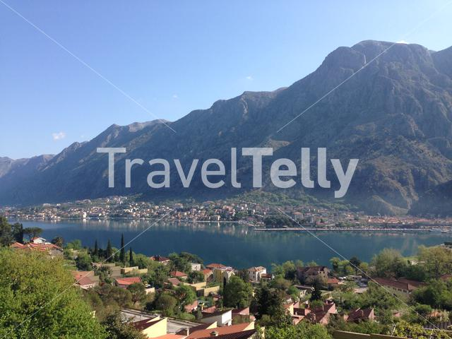 Overview from Kotor Montenegro