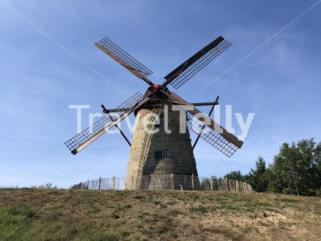 Windmill in Uelsen, Germany