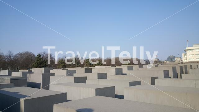Memorial to the Murdered Jews of Europe in Berlin Germany