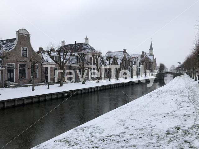Canal in Sloten during winter