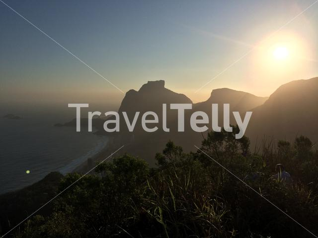 Sunset from Two Brother Mountain, Rio de Janeiro