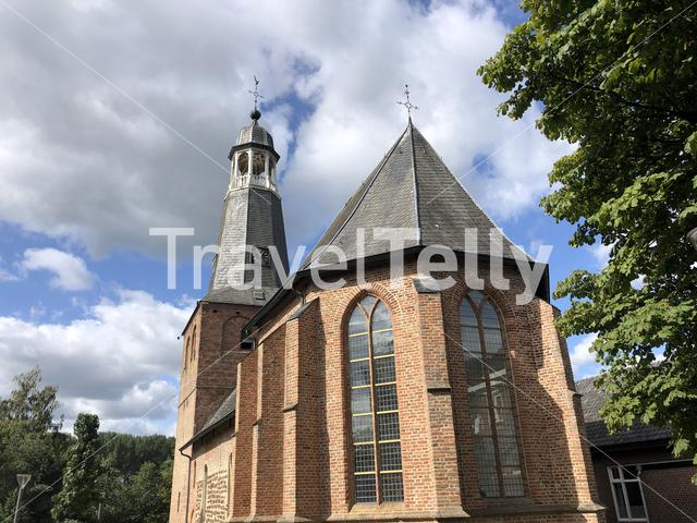 Old holy saint mauritius church in Silvolde, The Netherlands
