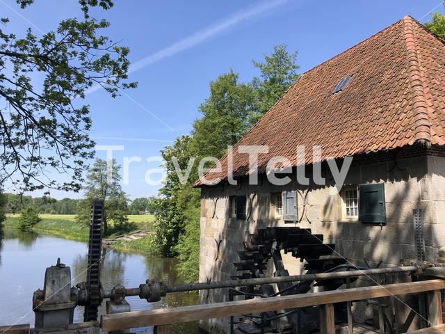 Mallumse mill in Eibergen in Gelderland the Netherlands
