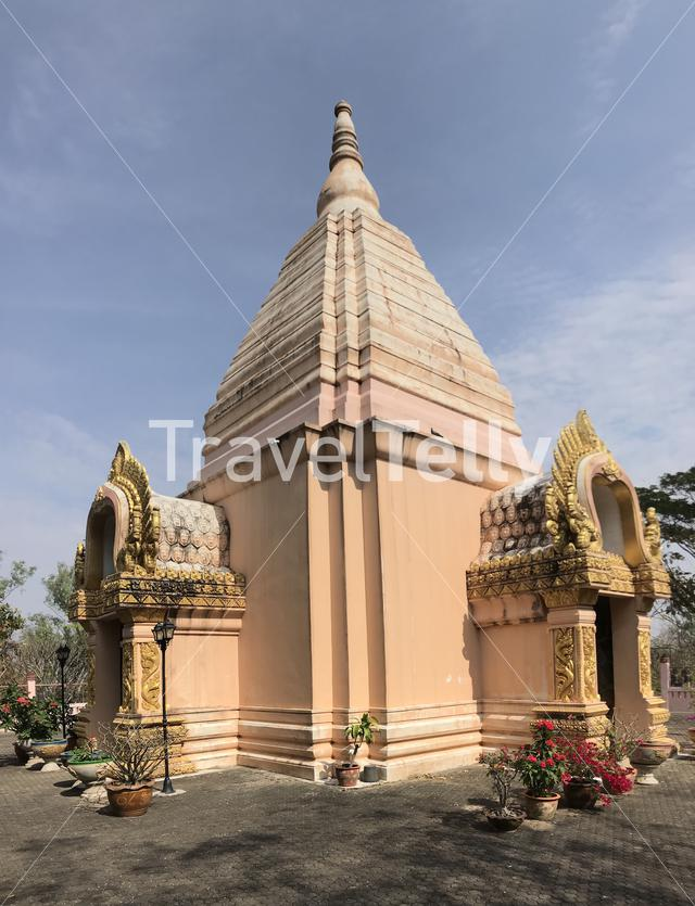 Buddhist temple in Phanom Sawai Forest Park Thailand