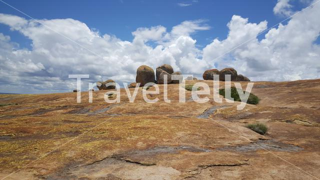Rocks scenery at Matobo National Park in Zimbabwe