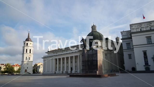 The Cathedral of Vilnius is the main Roman Catholic Cathedral of Lithuania