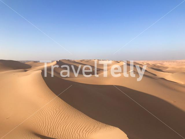 Sand dunes of the Wahiba Sands, Oman