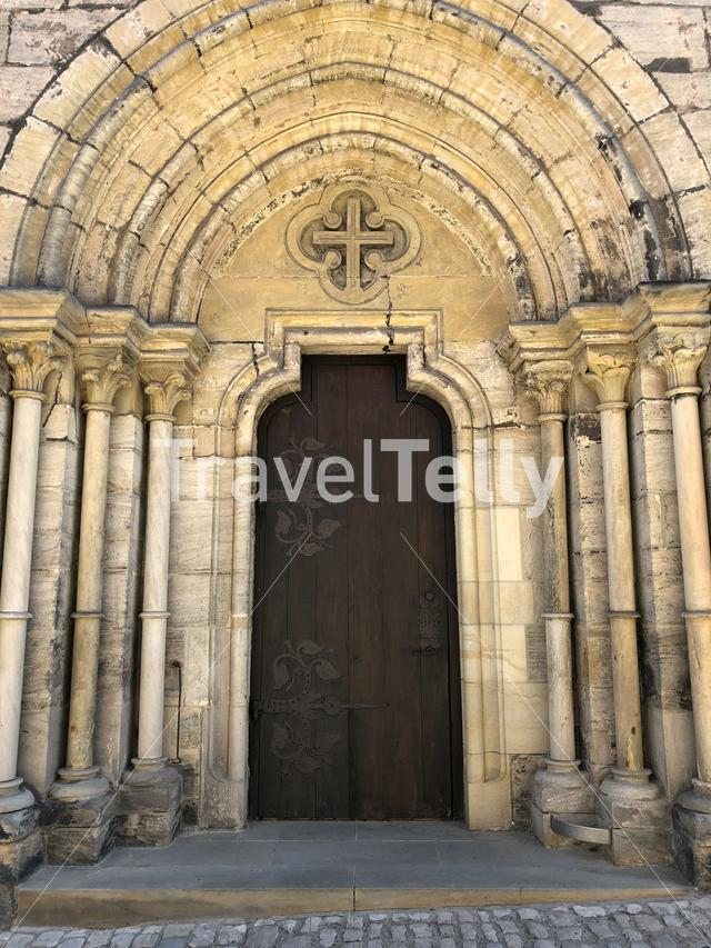 Door from the Bamberg Cathedral in Bamberg Germany