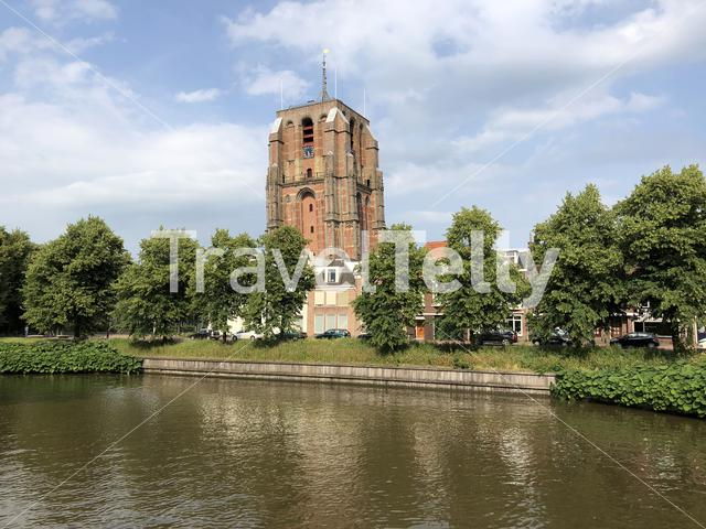 The Oldehove in Leeuwarden, friesland The Netherlands