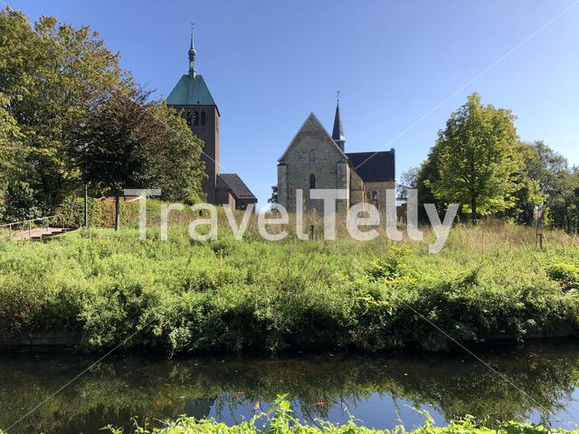 Collegiate Church of St Felicitas and the St. George's Church in Vreden, Germany