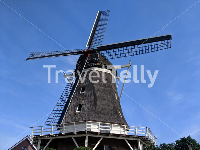 Windmill in Hardenberg Overijssel, The Netherlands