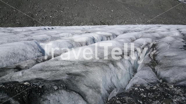 Ice at Jotunheimen National Park Norway