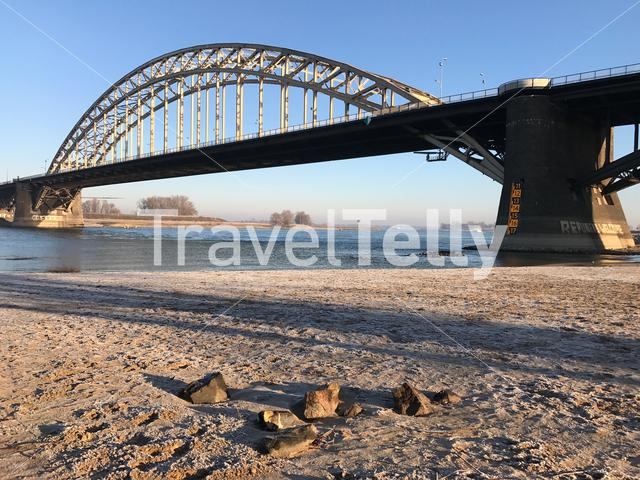 The Waalbridge in Nijmegen The Netherlands