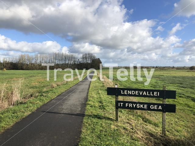 Nature reserve around Wolvega in Friesland, The Netherlands