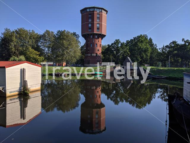 Water tower in Zwolle, The Netherlands