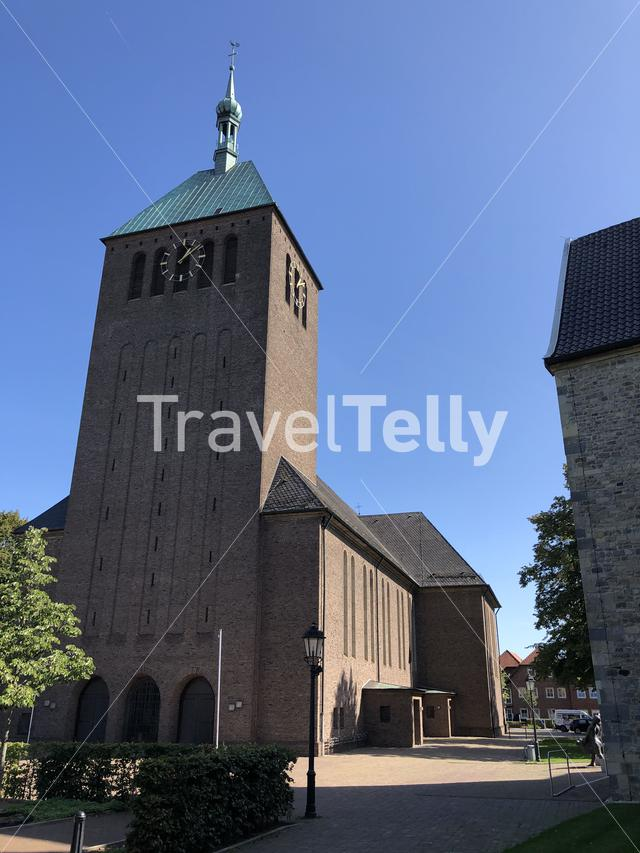 The St. George's Church in Vreden, Germany