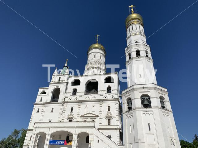 Ivan the Great Bell-Tower in Moscow, Russia