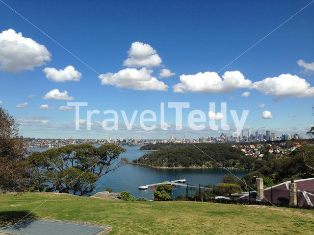 View of Sydney from Balmoral
