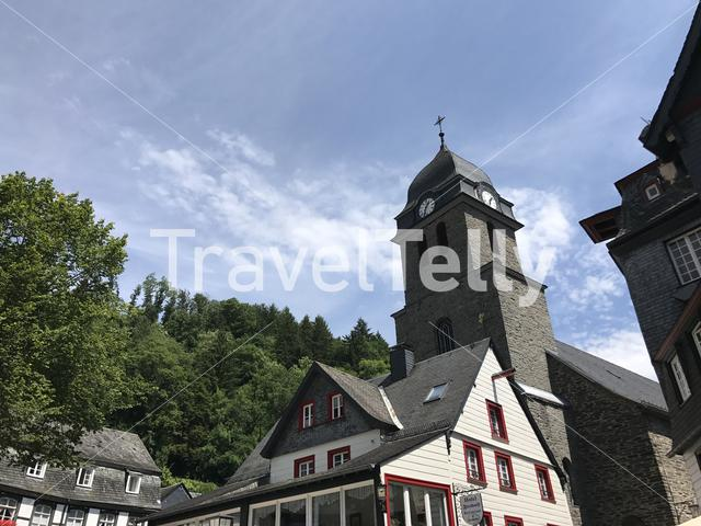 Church in Monschau Germany