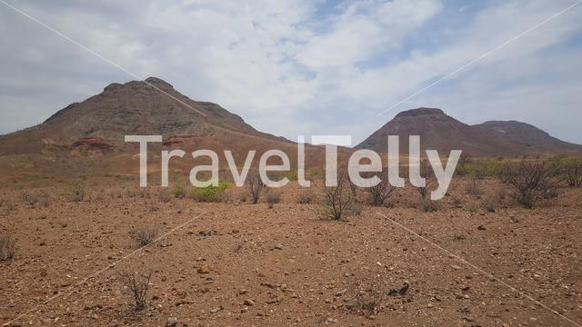Landscape around Orupembe in Namibia