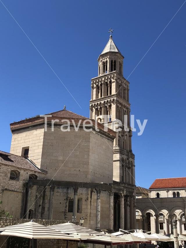 The Bell Tower of St. Domnius in Croatia