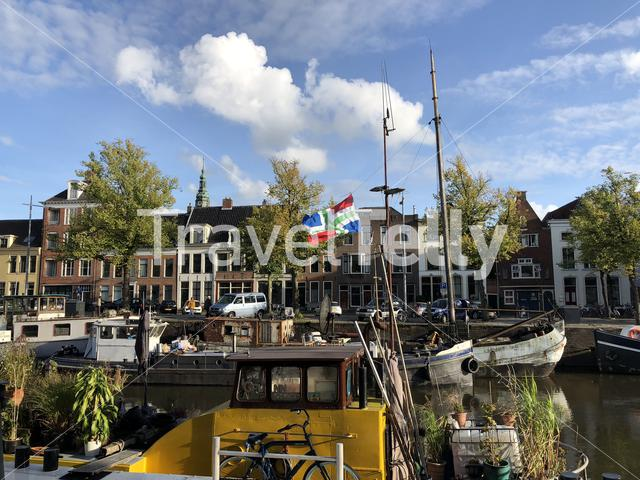 The Noorderhaven in Groningen The Netherlands