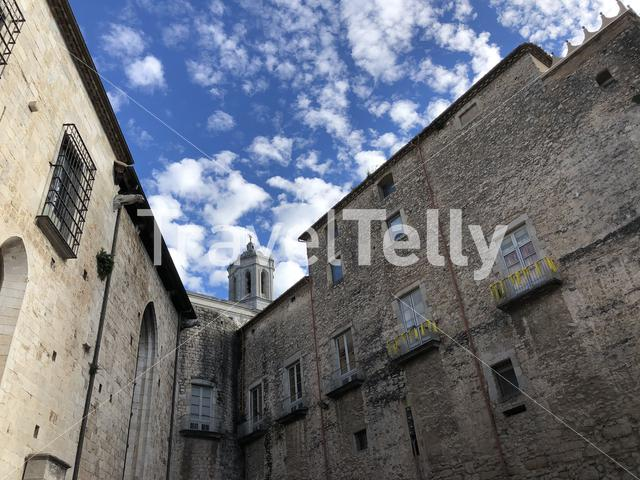 Old town of Girona Spain