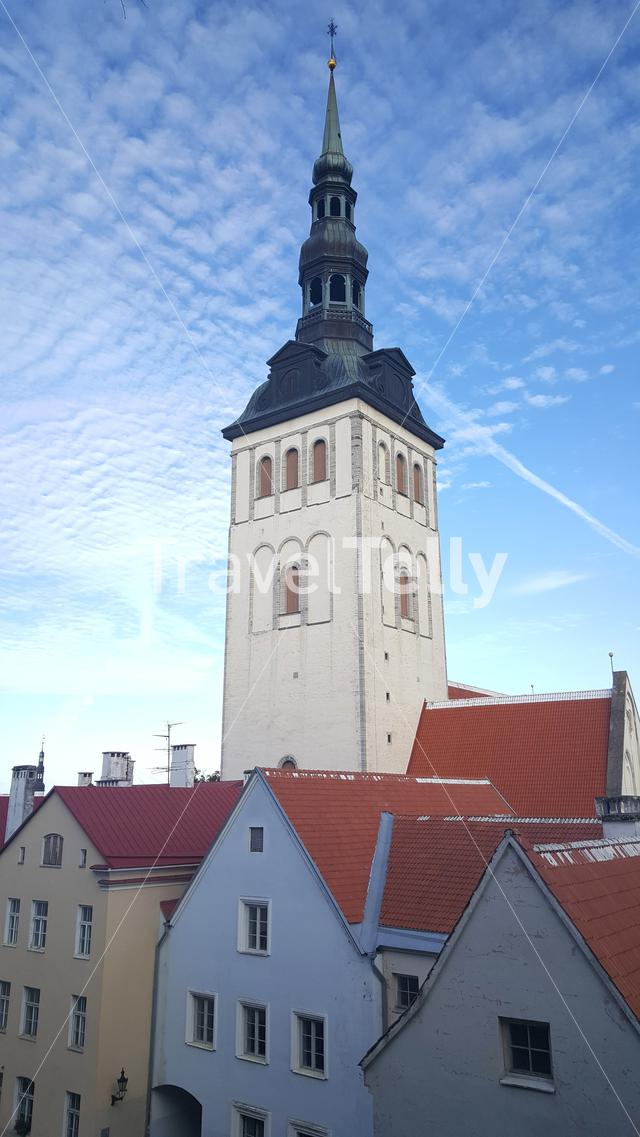 St. Nicholas' Church in Tallinn Estonia