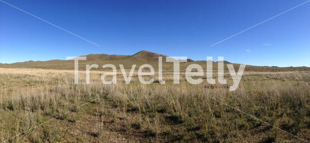 Panorama from the countryside of Mongolia