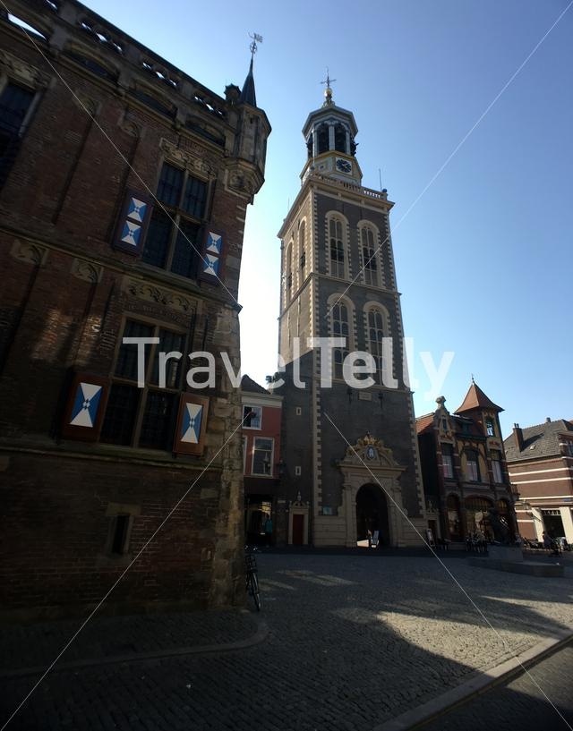 Old town in Kampen The Netherlands