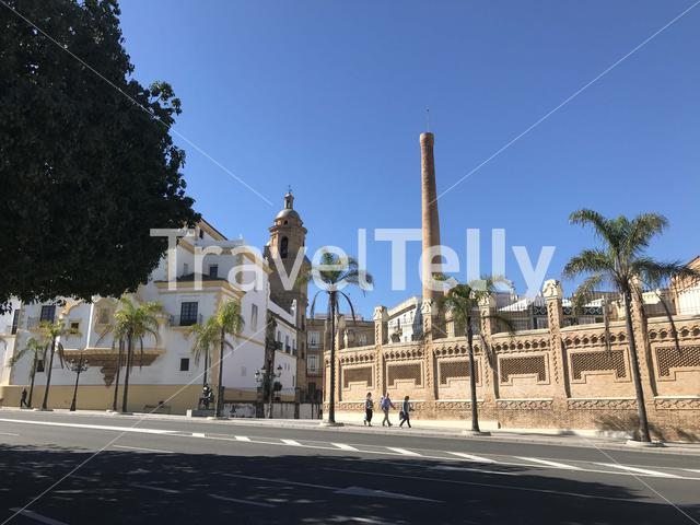 Iglesia Conventual de Santo Domingo church in Cadiz Spain