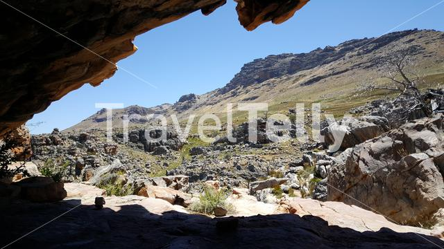 Cave at Cederberg Wilderness Area in South Africa