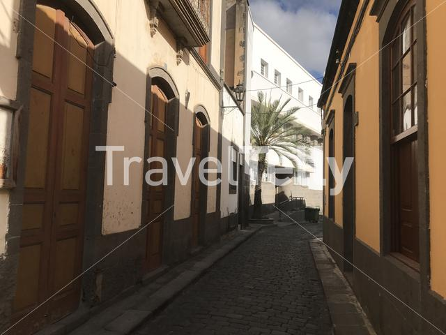 In the streets of Arucas Gran Canaria