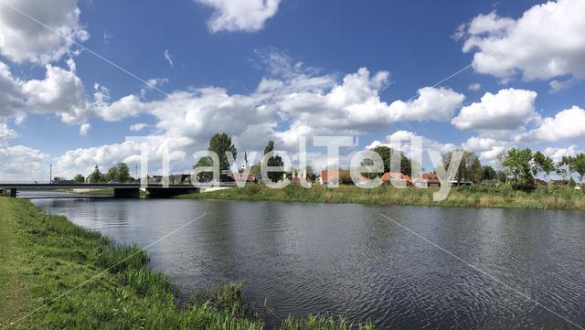 Panorama from the Ommen in The Netherlands