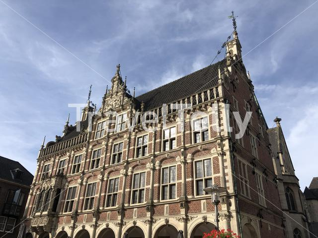 Old city hall in Bocholt, Germany