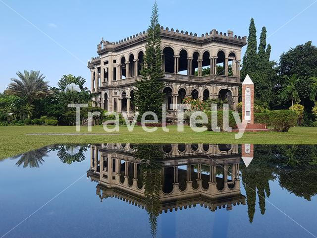 The Ruins, Remains of a stately Italianate mansion in Talisay City, Philippines
