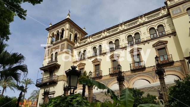 Hotel Alfonso XIII in Seville Spain