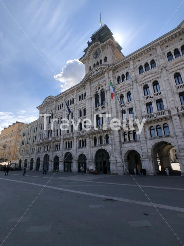 City hall in Trieste Italy