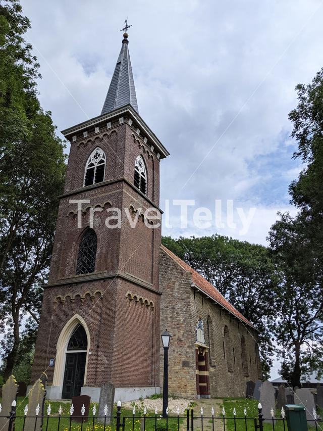 Church in Britswert, Friesland The Netherlands