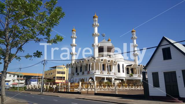 Mosque Keizerstraat in Paramaribo Suriname