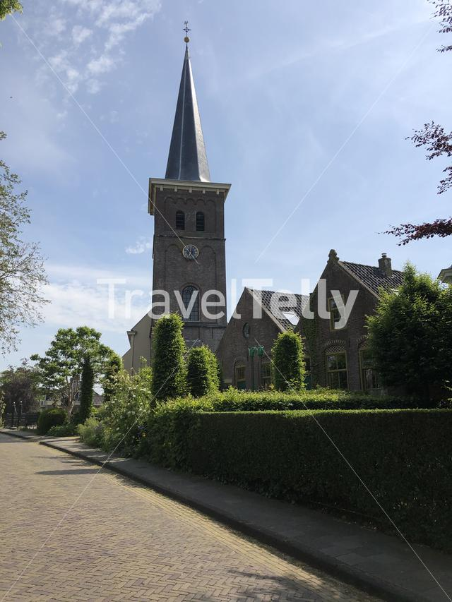 Church in Mantgum Friesland The Netherlands