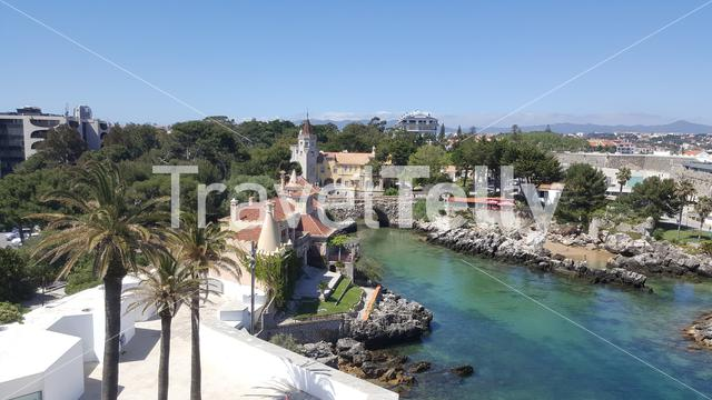 View from the lighthouse in Cascais, Portugal