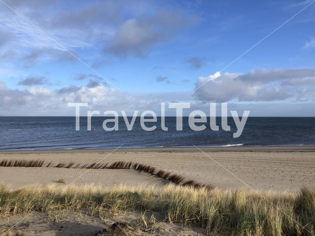 The beach of Texel in The Netherlands