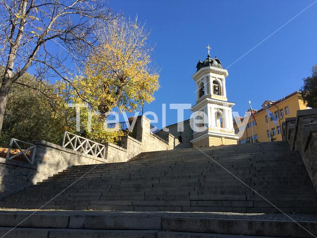 Church of the Holy Mother of God in Plovdiv Bulgaria