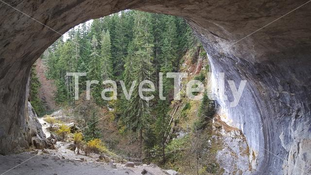 Wonderful Bridges natural arches in the Rhodope Mountains of southern Bulgaria