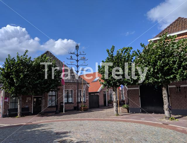 Square in Gramsbergen, The Netherlands